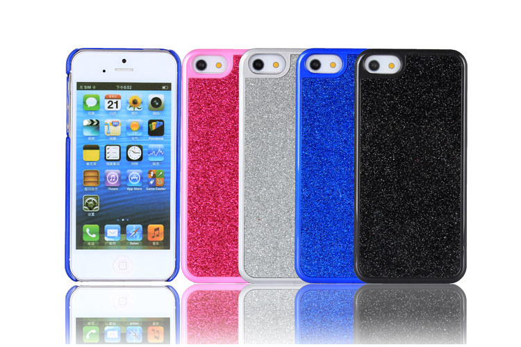 iPhone5 glitter case - color
