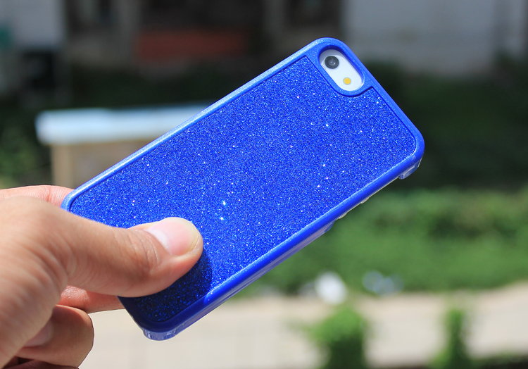 iPhone5 glitter case - dtails