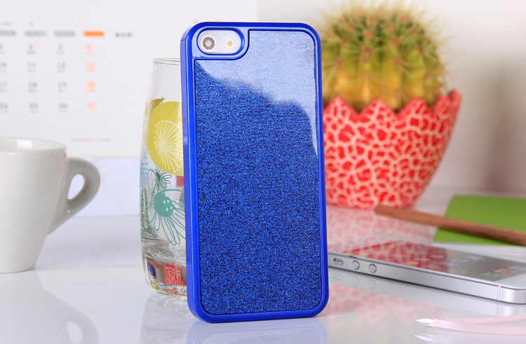 iphone5  glitter case - blue