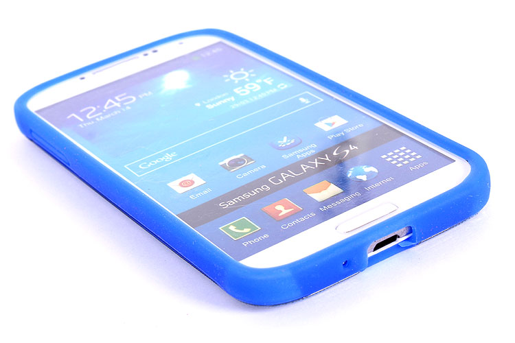 for galaxy s4 back cover silicon and pc case