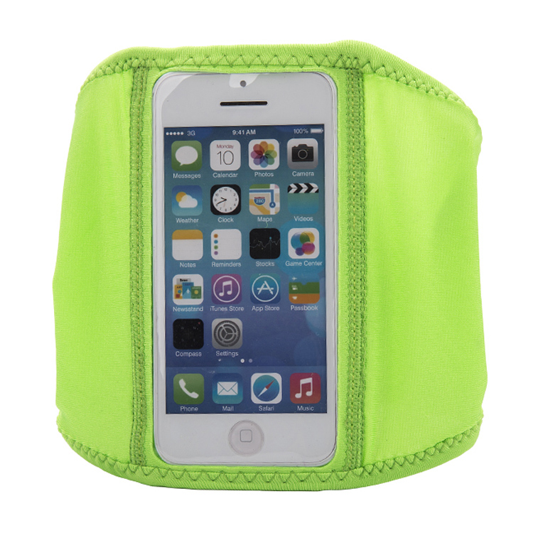Closed jogging armband case for iphone 4/5