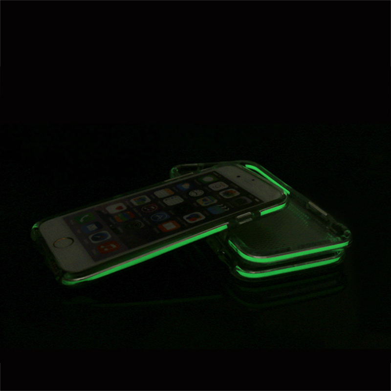 DIY two colors glow soft case