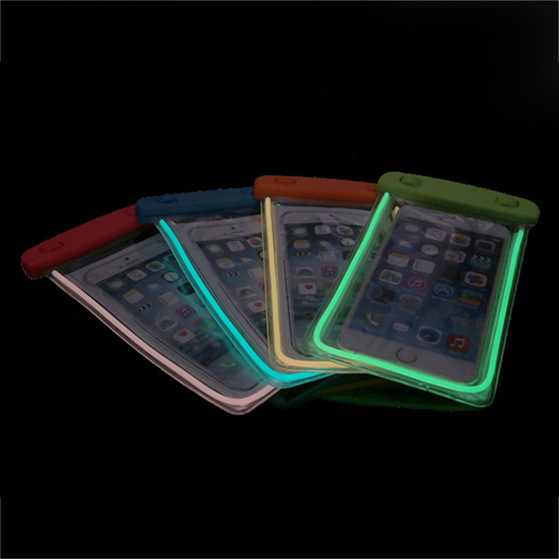 Luminous waterproof case