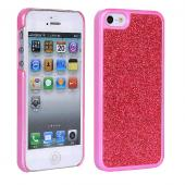 Bling bling design hard PC Plated Glitter Case for iPhone 5