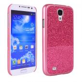 Glam glitter case for samsung galaxy s4 with smooth finished