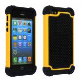 3 in1 full shockproof TPU+PC+Silicon back cover for iphone 5