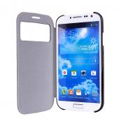 New design for samsung galaxy s4 cover for s4 i9500 leather cover