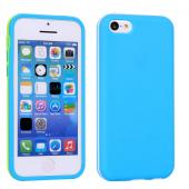 Coloful soft case for iphone 5c pc and tpu cover