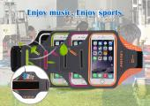 New design lycra armband for iphone6/6s
